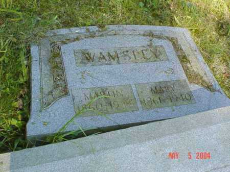 WAMSLEY, MARTIN - Adams County, Ohio | MARTIN WAMSLEY - Ohio Gravestone Photos
