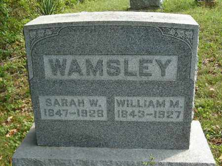 WAMSLEY, SARAH W. - Adams County, Ohio | SARAH W. WAMSLEY - Ohio Gravestone Photos