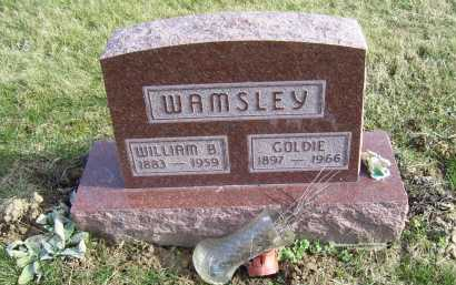 WAMSLEY, GOLDIE - Adams County, Ohio | GOLDIE WAMSLEY - Ohio Gravestone Photos