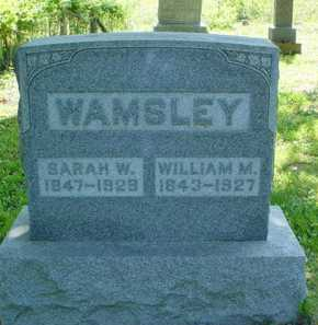 WAMSLEY, SARAH W. - Adams County, Ohio | SARAH W. WAMSLEY - Ohio Gravestone Photos