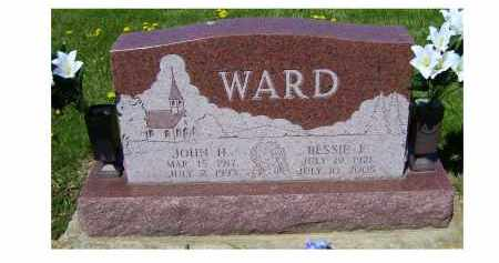 WARD, JOHN H. - Adams County, Ohio | JOHN H. WARD - Ohio Gravestone Photos