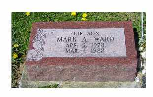 WARD, MARK A. - Adams County, Ohio | MARK A. WARD - Ohio Gravestone Photos