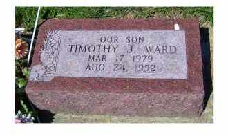 WARD, TIMOTHY J. - Adams County, Ohio | TIMOTHY J. WARD - Ohio Gravestone Photos