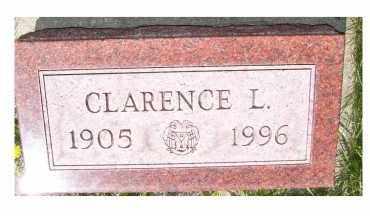 WASHBURN, CLARENCE L. - Adams County, Ohio | CLARENCE L. WASHBURN - Ohio Gravestone Photos