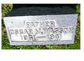 WASSON, OSCAR M. - Adams County, Ohio | OSCAR M. WASSON - Ohio Gravestone Photos