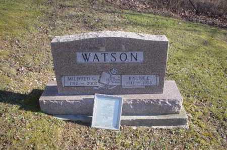 WATSON, RALPH E. - Adams County, Ohio | RALPH E. WATSON - Ohio Gravestone Photos