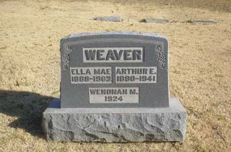 WEAVER, WENONAH M. - Adams County, Ohio | WENONAH M. WEAVER - Ohio Gravestone Photos