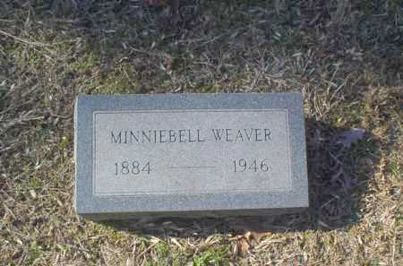 WEAVER, MINNIEBELL - Adams County, Ohio | MINNIEBELL WEAVER - Ohio Gravestone Photos