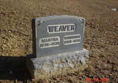 WEAVER, MARTHA - Adams County, Ohio | MARTHA WEAVER - Ohio Gravestone Photos