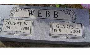 WEBB, ROBERT W. - Adams County, Ohio | ROBERT W. WEBB - Ohio Gravestone Photos