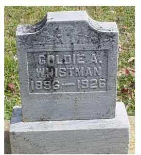 WHISTMAN, GOLDIE A. - Adams County, Ohio | GOLDIE A. WHISTMAN - Ohio Gravestone Photos