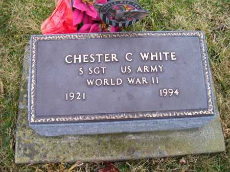 WHITE, CHESTER C. - Adams County, Ohio | CHESTER C. WHITE - Ohio Gravestone Photos