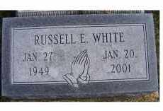 WHITE, RUSSELL E. - Adams County, Ohio | RUSSELL E. WHITE - Ohio Gravestone Photos