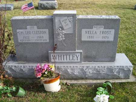 WHITLEY, LEO CLESTON - Adams County, Ohio | LEO CLESTON WHITLEY - Ohio Gravestone Photos