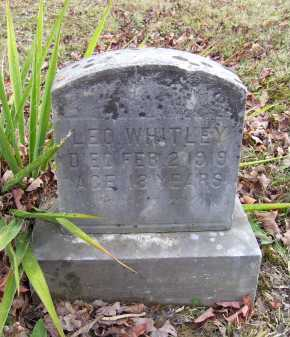WHITLEY, LEO - Adams County, Ohio | LEO WHITLEY - Ohio Gravestone Photos