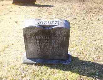 NEWMAN WIKOFF, ANNA E. - Adams County, Ohio | ANNA E. NEWMAN WIKOFF - Ohio Gravestone Photos
