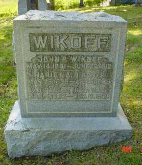 THOMPSON WIKOFF, HARIET A. - Adams County, Ohio | HARIET A. THOMPSON WIKOFF - Ohio Gravestone Photos