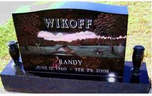 WIKOFF, RANDY - Adams County, Ohio | RANDY WIKOFF - Ohio Gravestone Photos