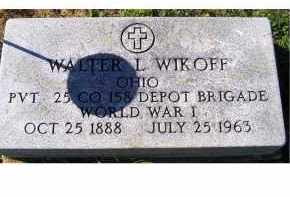 WIKOFF, WALTER L. - Adams County, Ohio | WALTER L. WIKOFF - Ohio Gravestone Photos