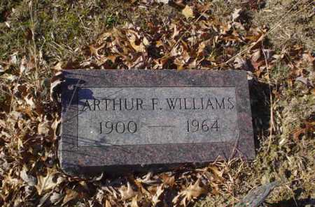 WILLIAMS, ARTHUR E. - Adams County, Ohio | ARTHUR E. WILLIAMS - Ohio Gravestone Photos