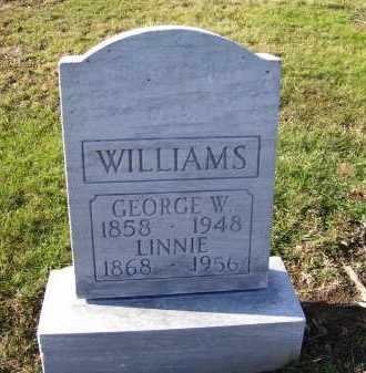WILLIAMS, LINNIE - Adams County, Ohio | LINNIE WILLIAMS - Ohio Gravestone Photos