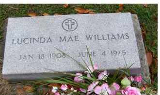 WILLIAMS, LUCINDA MAE - Adams County, Ohio | LUCINDA MAE WILLIAMS - Ohio Gravestone Photos