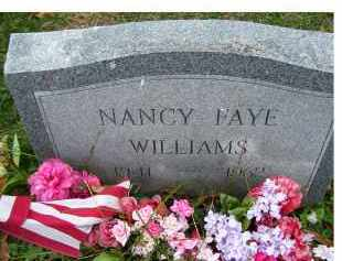 WILLIAMS, NANCY FAYE - Adams County, Ohio | NANCY FAYE WILLIAMS - Ohio Gravestone Photos