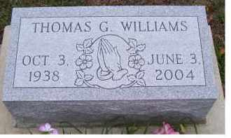 WILLIAMS, THOMAS G. - Adams County, Ohio | THOMAS G. WILLIAMS - Ohio Gravestone Photos