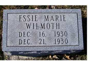 WILMOTH, ESSIE MARIE - Adams County, Ohio | ESSIE MARIE WILMOTH - Ohio Gravestone Photos