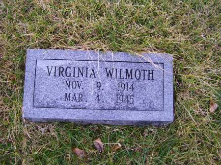 WILMOTH, VIRGINIA - Adams County, Ohio | VIRGINIA WILMOTH - Ohio Gravestone Photos