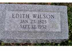 WILSON, EDITH - Adams County, Ohio | EDITH WILSON - Ohio Gravestone Photos