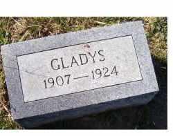 WILSON, GLADYS - Adams County, Ohio | GLADYS WILSON - Ohio Gravestone Photos