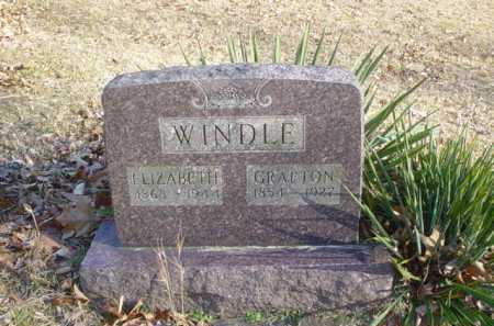 WINDLE, GRAFTON - Adams County, Ohio | GRAFTON WINDLE - Ohio Gravestone Photos