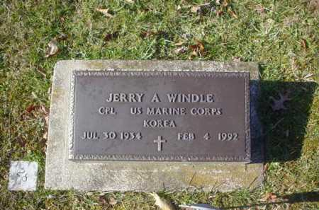 WINDLE, JERRY A. - Adams County, Ohio | JERRY A. WINDLE - Ohio Gravestone Photos