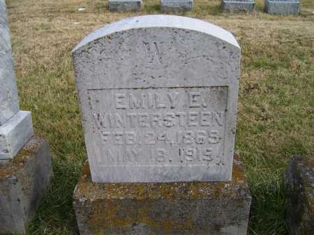 WINTERSTEEN, EMILY E. - Adams County, Ohio | EMILY E. WINTERSTEEN - Ohio Gravestone Photos