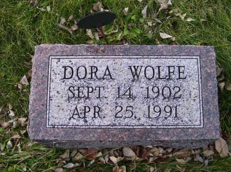 WOLFE, DORA - Adams County, Ohio | DORA WOLFE - Ohio Gravestone Photos