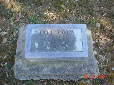 WOODS, MILTON - Adams County, Ohio | MILTON WOODS - Ohio Gravestone Photos