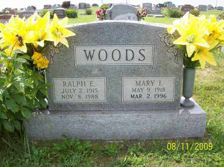 WOODS, MARY - Adams County, Ohio | MARY WOODS - Ohio Gravestone Photos