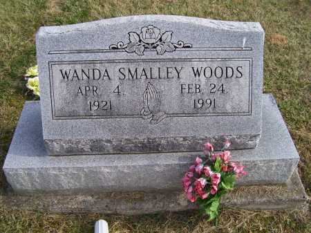 SMALLEY WOODS, WANDA - Adams County, Ohio | WANDA SMALLEY WOODS - Ohio Gravestone Photos
