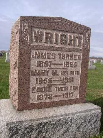 WRIGHT, JAMES TURNER - Adams County, Ohio | JAMES TURNER WRIGHT - Ohio Gravestone Photos