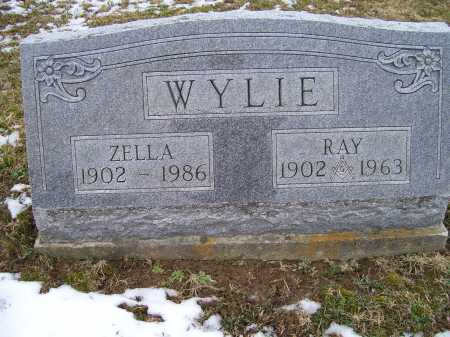 WYLIE, RAY - Adams County, Ohio | RAY WYLIE - Ohio Gravestone Photos