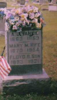 YANKIE, FLOYD B. - Adams County, Ohio | FLOYD B. YANKIE - Ohio Gravestone Photos
