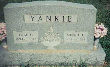 YANKIE, MINNIE E. - Adams County, Ohio | MINNIE E. YANKIE - Ohio Gravestone Photos