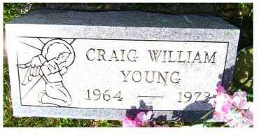 YOUNG, CRAIG WILLIAM - Adams County, Ohio | CRAIG WILLIAM YOUNG - Ohio Gravestone Photos