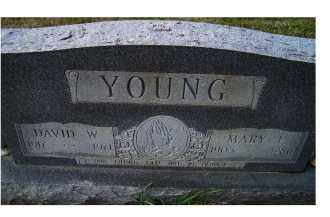 YOUNG, MARY E. - Adams County, Ohio | MARY E. YOUNG - Ohio Gravestone Photos