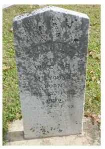 YOUNG, HANNAH K. - Adams County, Ohio | HANNAH K. YOUNG - Ohio Gravestone Photos