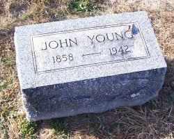 YOUNG, JOHN - Adams County, Ohio | JOHN YOUNG - Ohio Gravestone Photos