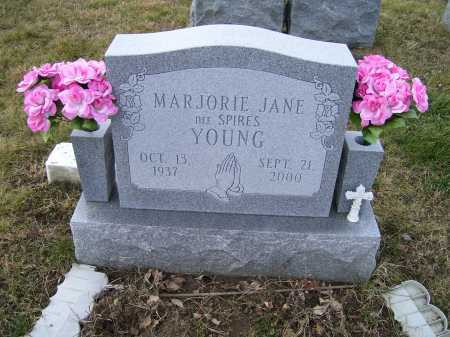 YOUNG, MARJORIE JANE - Adams County, Ohio | MARJORIE JANE YOUNG - Ohio Gravestone Photos