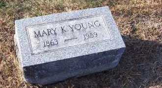 YOUNG, MARY - Adams County, Ohio | MARY YOUNG - Ohio Gravestone Photos
