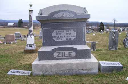 ZILE, LEWIS - Adams County, Ohio | LEWIS ZILE - Ohio Gravestone Photos